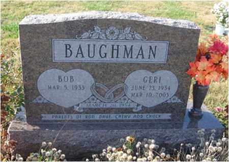 BAUGHMAN, GERI - Fairfield County, Ohio | GERI BAUGHMAN - Ohio Gravestone Photos