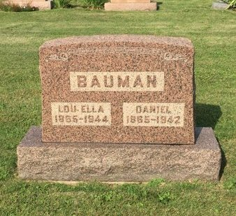 BAUMAN, DANIEL - Fairfield County, Ohio   DANIEL BAUMAN - Ohio Gravestone Photos