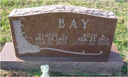 BAY, CLOISE C. - Fairfield County, Ohio | CLOISE C. BAY - Ohio Gravestone Photos