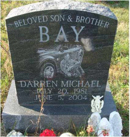 BAY, DARREN MICHAEL - Fairfield County, Ohio | DARREN MICHAEL BAY - Ohio Gravestone Photos