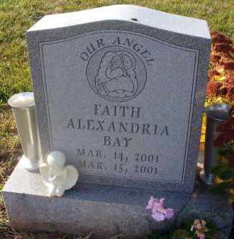 BAY, FAITH ALEXANDRIA - Fairfield County, Ohio | FAITH ALEXANDRIA BAY - Ohio Gravestone Photos