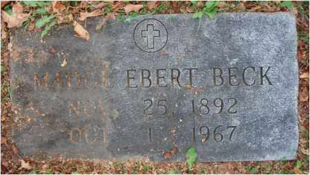 BECK, MADGE - Fairfield County, Ohio | MADGE BECK - Ohio Gravestone Photos