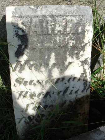 BECK?, SARAH - Fairfield County, Ohio | SARAH BECK? - Ohio Gravestone Photos
