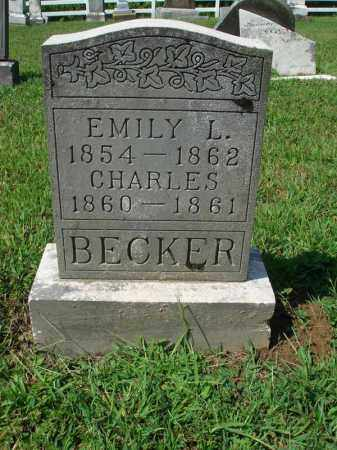 BECKER, CHARLES - Fairfield County, Ohio | CHARLES BECKER - Ohio Gravestone Photos