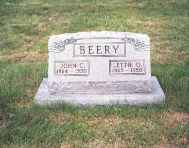 BEERY, LETTIE O. - Fairfield County, Ohio | LETTIE O. BEERY - Ohio Gravestone Photos