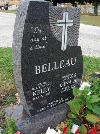 BELLEAU, GINA A. - Fairfield County, Ohio | GINA A. BELLEAU - Ohio Gravestone Photos