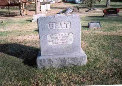 BELT, BENJAMIN T. - Fairfield County, Ohio | BENJAMIN T. BELT - Ohio Gravestone Photos