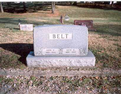 BELT, GUY C. - Fairfield County, Ohio | GUY C. BELT - Ohio Gravestone Photos