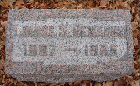 BENADUM, LOUISE S. - Fairfield County, Ohio | LOUISE S. BENADUM - Ohio Gravestone Photos