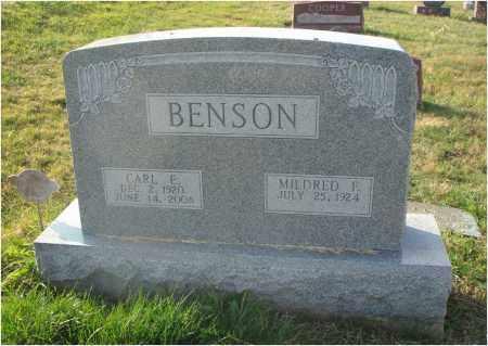 BENSON, CARL E. - Fairfield County, Ohio | CARL E. BENSON - Ohio Gravestone Photos