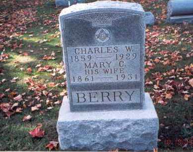 BERRY, CHARLES W. - Fairfield County, Ohio | CHARLES W. BERRY - Ohio Gravestone Photos