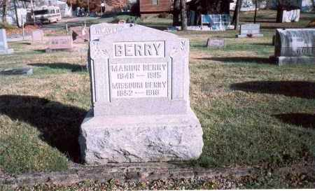 BERRY, MARION - Fairfield County, Ohio | MARION BERRY - Ohio Gravestone Photos