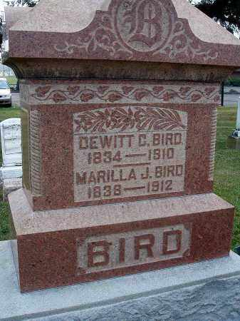 BIRD, DEWITT C. - Fairfield County, Ohio | DEWITT C. BIRD - Ohio Gravestone Photos