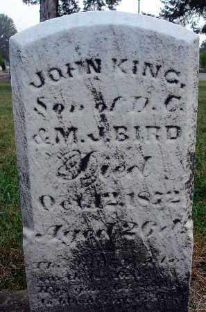 BIRD, JOHN KING - Fairfield County, Ohio | JOHN KING BIRD - Ohio Gravestone Photos