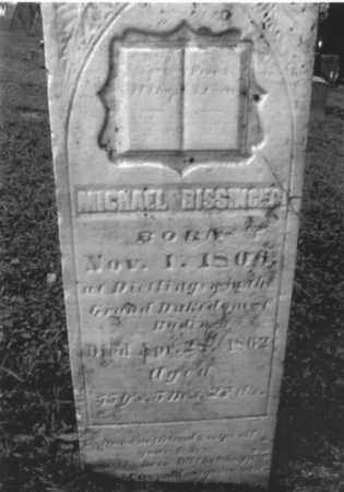 BISSINGER, MICHAEL - Fairfield County, Ohio | MICHAEL BISSINGER - Ohio Gravestone Photos