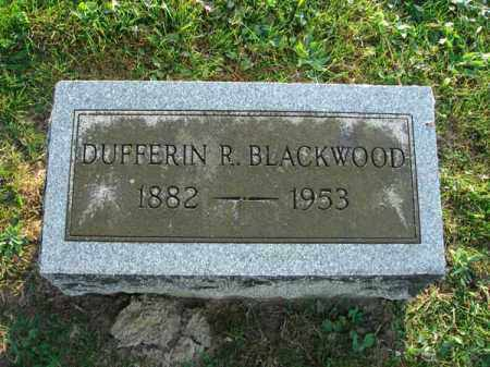 BLACKWOOD, DUFFERIN R. - Fairfield County, Ohio | DUFFERIN R. BLACKWOOD - Ohio Gravestone Photos