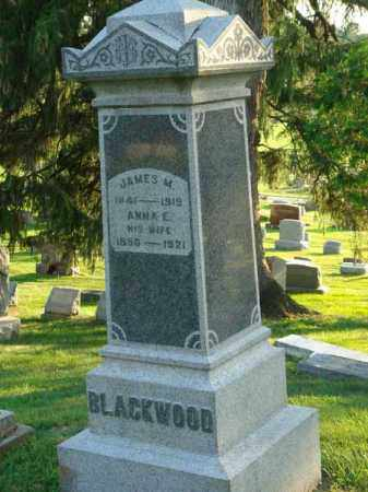 BLACKWOOD, JAMES M. - Fairfield County, Ohio | JAMES M. BLACKWOOD - Ohio Gravestone Photos