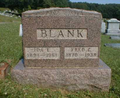 BLANK, IDA - Fairfield County, Ohio | IDA BLANK - Ohio Gravestone Photos