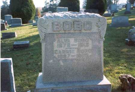 BOBO, CARRIE B - Fairfield County, Ohio | CARRIE B BOBO - Ohio Gravestone Photos