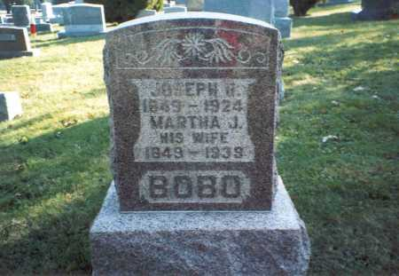BOBO, MARTHA J. - Fairfield County, Ohio | MARTHA J. BOBO - Ohio Gravestone Photos