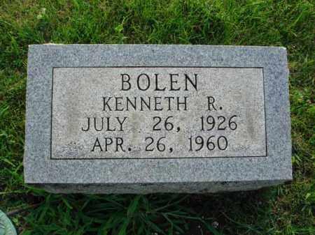 BOLEN, KENNETH R. - Fairfield County, Ohio   KENNETH R. BOLEN - Ohio Gravestone Photos
