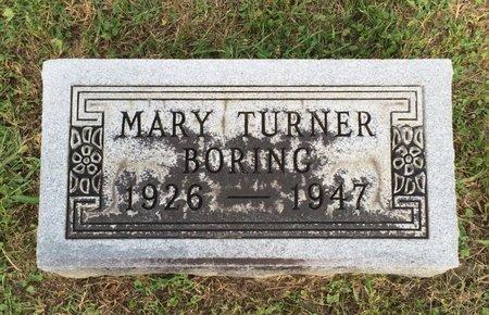 BORING, MARY - Fairfield County, Ohio   MARY BORING - Ohio Gravestone Photos