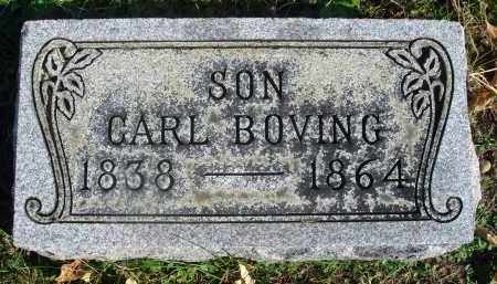 BOVING, CARL - Fairfield County, Ohio | CARL BOVING - Ohio Gravestone Photos