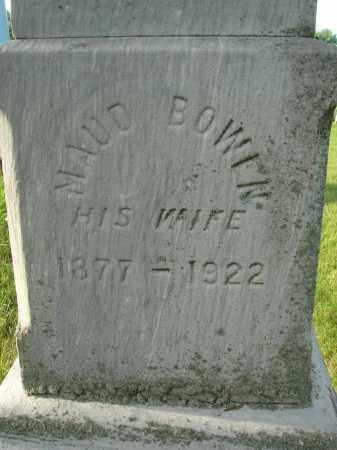 BOWEN, MAUD - Fairfield County, Ohio | MAUD BOWEN - Ohio Gravestone Photos