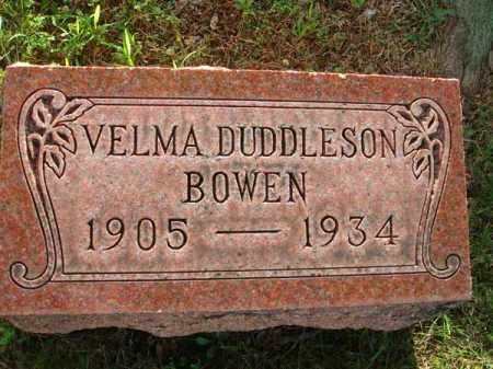 BOWEN, VELMA - Fairfield County, Ohio | VELMA BOWEN - Ohio Gravestone Photos