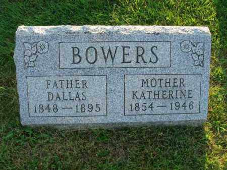 BOWERS, KATHERINE - Fairfield County, Ohio | KATHERINE BOWERS - Ohio Gravestone Photos