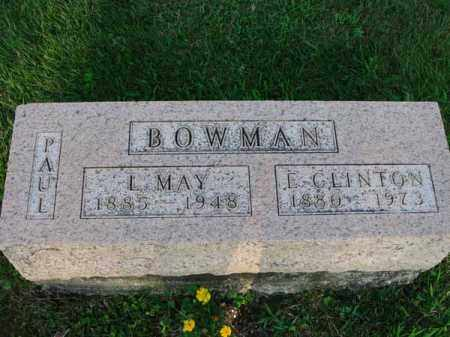 BOWMAN, PAUL - Fairfield County, Ohio | PAUL BOWMAN - Ohio Gravestone Photos