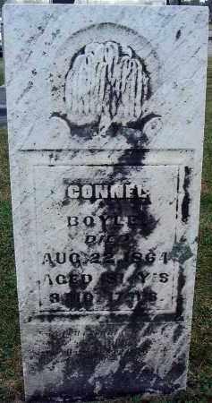 BOYLE, CONNEL - Fairfield County, Ohio | CONNEL BOYLE - Ohio Gravestone Photos