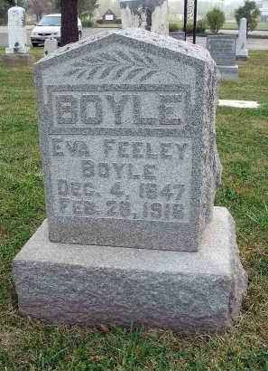 FEELEY BOYLE, EVA - Fairfield County, Ohio | EVA FEELEY BOYLE - Ohio Gravestone Photos