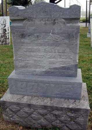 BOYLE, GRACE - Fairfield County, Ohio | GRACE BOYLE - Ohio Gravestone Photos