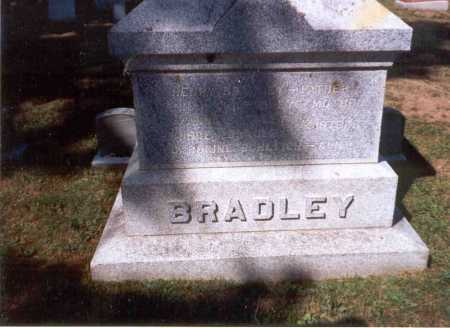 SCHLEICH BRADLEY, HANNAH - Fairfield County, Ohio | HANNAH SCHLEICH BRADLEY - Ohio Gravestone Photos