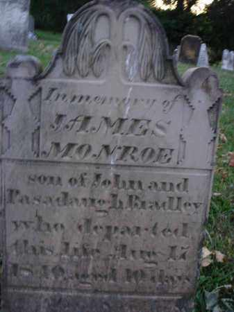 BRADLEY, JAMES MONROE - Fairfield County, Ohio | JAMES MONROE BRADLEY - Ohio Gravestone Photos