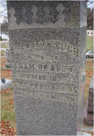 BRANDT, ELLIZABETH - Fairfield County, Ohio | ELLIZABETH BRANDT - Ohio Gravestone Photos