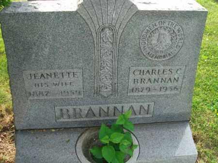 BRANNAN, CHARLES C. - Fairfield County, Ohio | CHARLES C. BRANNAN - Ohio Gravestone Photos