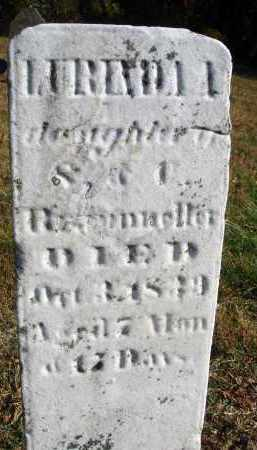 BRAUNELLER, LURINDA A. - Fairfield County, Ohio | LURINDA A. BRAUNELLER - Ohio Gravestone Photos
