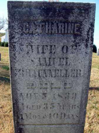 BRAUNNELLER, CATHARINE - Fairfield County, Ohio | CATHARINE BRAUNNELLER - Ohio Gravestone Photos