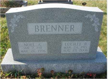 BRENNER, NOEL A. - Fairfield County, Ohio | NOEL A. BRENNER - Ohio Gravestone Photos