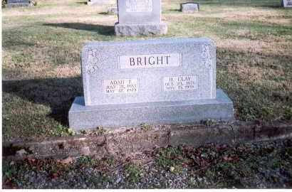 BRIGHT, ADAH E. - Fairfield County, Ohio | ADAH E. BRIGHT - Ohio Gravestone Photos