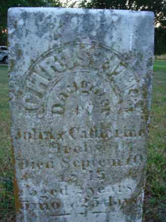 BROBST, CHRISTINE - Fairfield County, Ohio | CHRISTINE BROBST - Ohio Gravestone Photos