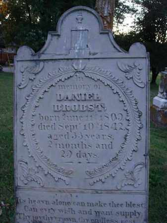 BROBST, DANIEL - Fairfield County, Ohio | DANIEL BROBST - Ohio Gravestone Photos