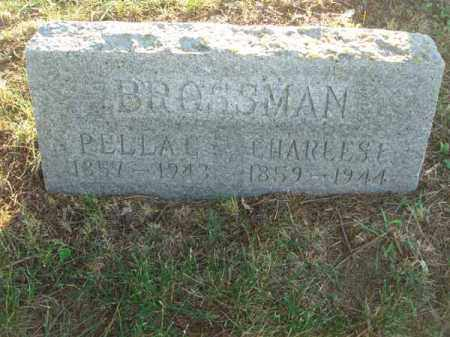 BROSSMAN, PELLA C. - Fairfield County, Ohio | PELLA C. BROSSMAN - Ohio Gravestone Photos