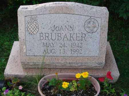 BRUBAKER, JOANN - Fairfield County, Ohio | JOANN BRUBAKER - Ohio Gravestone Photos