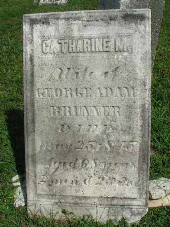 BRUNNER, CATHARINE M. - Fairfield County, Ohio | CATHARINE M. BRUNNER - Ohio Gravestone Photos