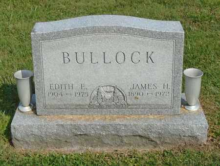 BULLOCK, JAMES H. - Fairfield County, Ohio | JAMES H. BULLOCK - Ohio Gravestone Photos