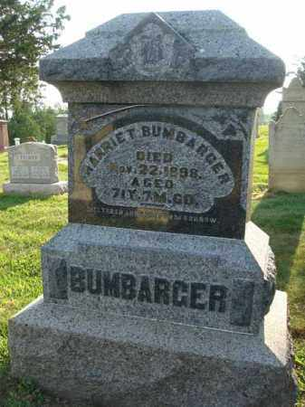 BUMBARGER, HARRIET - Fairfield County, Ohio | HARRIET BUMBARGER - Ohio Gravestone Photos