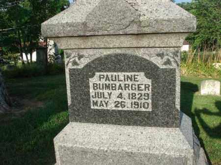 BUMBARGER, PAULINE - Fairfield County, Ohio | PAULINE BUMBARGER - Ohio Gravestone Photos